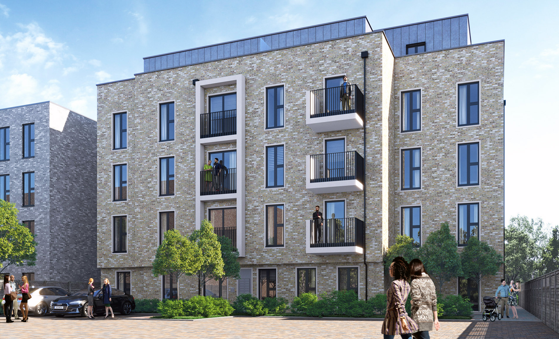 18 Flats In Construction